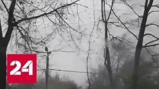 Шквалистый ветер принес в Москву мартовский холод - Россия 24