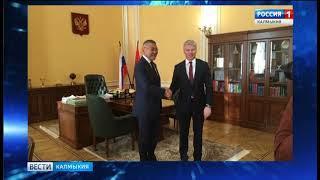 Глава Калмыкии встретился с министром спорта