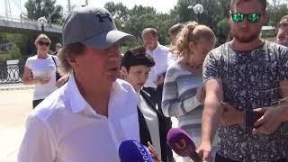 """Тренер """"Локо"""" Юрий Семин в Оренбурге"""