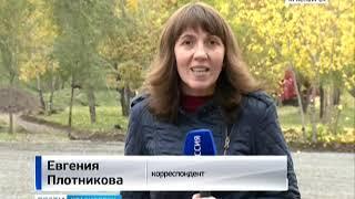 В Красноярске началась реконструкция сквера Победителей
