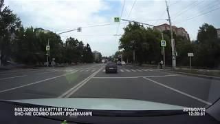 В Пензе автомобиль свадебного кортежа попал в ДТП