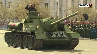 Парад Победы в Чите вошёл в десятку самых грандиозных в России