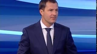 Гость студии «Вестей» - исполняющий обязанности мэра Ярославля Владимир Волков