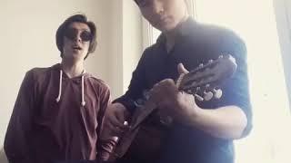 Заман тобы омир озен (cover) на гитаре[SulTaN TeleU]