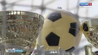 Пермь украсил гигантский цветник в виде мяча