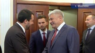 Владимир Колокольцев и Маттео Сальвини обсудили актуальные направления взаимодействия