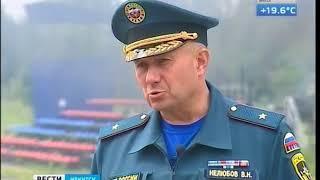 Лесные пожары и наводнения — прогнозы от МЧС по Иркутской области