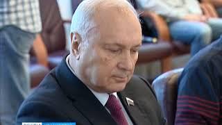 Депутат Госдумы Пётр Пимашков побывал в Красноярском педуниверситете
