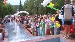 Каскад фонтанов в Липецке