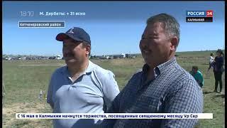 В Калмыкии прошли конно-спортивные состязания