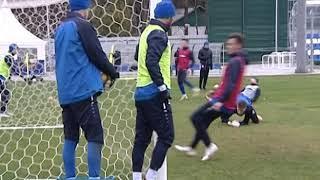 Калининградская «Балтика» начала подготовку к последнему матчу в этом году