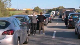 Полицейская операция вызвала транспортный коллапс в Дании…