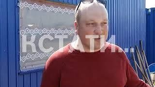 """На нижегородскую """"Стрелку"""" обрушилось первое испытание ливнем"""