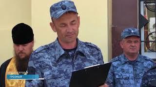 В Грозном установили мемориальную доску саратовским полицейским, убитым при нападении боевиков