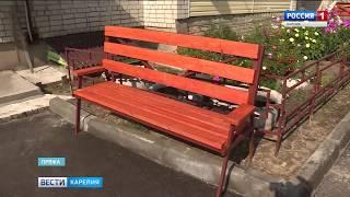 Депутаты проверили качество ремонта дорог и школы в Пряже