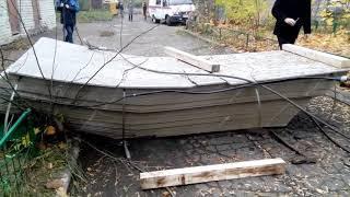 Строительный кран упал на детсад № 361