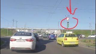 ДТП  в Нижнем Новгороде! Проезд на красный сигнал светофора!!! Автохамы! Наглецы!