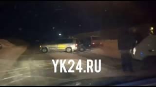 ДТП в Ленске: столкнулись автомобили ВАЗ и Тойота