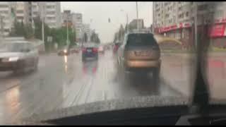 Потоп в Омске 28.06.2018
