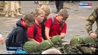 В Йошкар-Оле прошел слёт юнармейцев - Вести Марий Эл