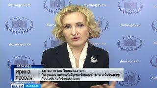 Ирина Яровая - финансирование национальных программ в будущем году увеличится