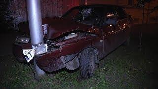 Врезался в столб и бросил машину. В Кургане искали нетрезвых водителей