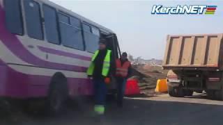 На трассе Керчь-Феодосия попал в ДТП междугородний автобус