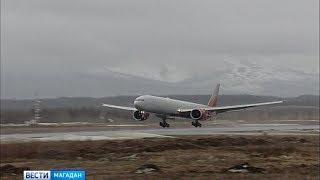 Новый  лайнер Боинг 777 300 ЕР повышенной комфортности будет перевозить колымчан