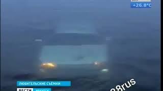 Автомобиль утонул в Ангаре ночью в Иркутске