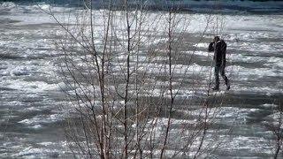 Жители хутора на границе Волгоградской области остались без переправы