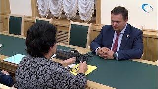 Андрей Никитин и руководитель Новгородстата обсудили пробную перепись населения в регионе