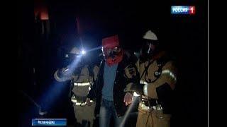 В одном из торговых центров Ростова потушили условный пожар