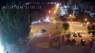 ДТП (авария г. Волжский) ул. Карбышева ул. Молодогвардейцев 13-07-2018 21-21