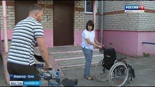 Первая семья из Марий Эл использовала материнский капитал на адаптацию ребёнка -инвалида