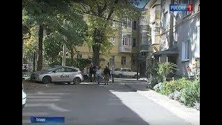 В Таганроге жильцы трех многоэтажек не смогли поделить обновленный двор