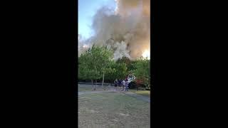 Буденновск, пожар.