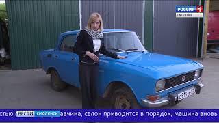 Восстановленный «москвич» стал памятью о смоленском ветеране