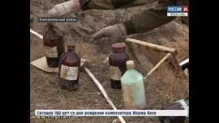 Компания-перевозчик, водитель которой устроил свалку химических отходов в Комсомольском районе, може
