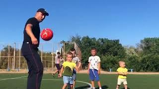 Крымские полицейские присоединились к акции «Наша семья, наш футбол»