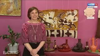 В художественной школе работает выставка керамических изделий