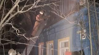 Крупный пожар в Заволжском районе Ярославля: три семьи остались без жилья