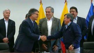 Переговоры между властями Колумбии и повстанцами АНО переносятся в Чили…