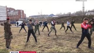 «Юные спецназовцы» сдавали нормативы на шевроны в Иркутске