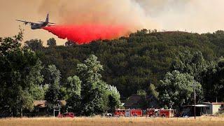 Крупнейший пожар в истории Калифорнии