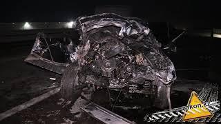 Три человека попали в больницу после ДТП на Капшагайской трассе