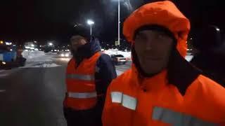 Войны света: на Камчатке сняли клип про работу дорожников во время снегопадов