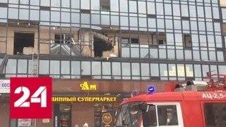 Взрыв в питерской многоэтажке повредил 10 квартир и обрушил лифт - Россия 24