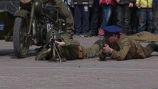 Прямое включение с реконструкции боя в Ханты-Мансийске
