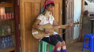 Женщины-жирафы из Мьянмы