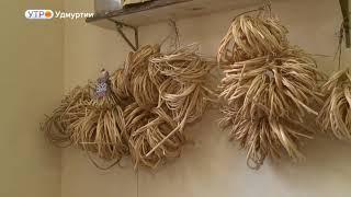 """Выставка """"Северные напевы"""", главные экспонаты которой - корзины из корней сосны, открылась в Ижевске"""
